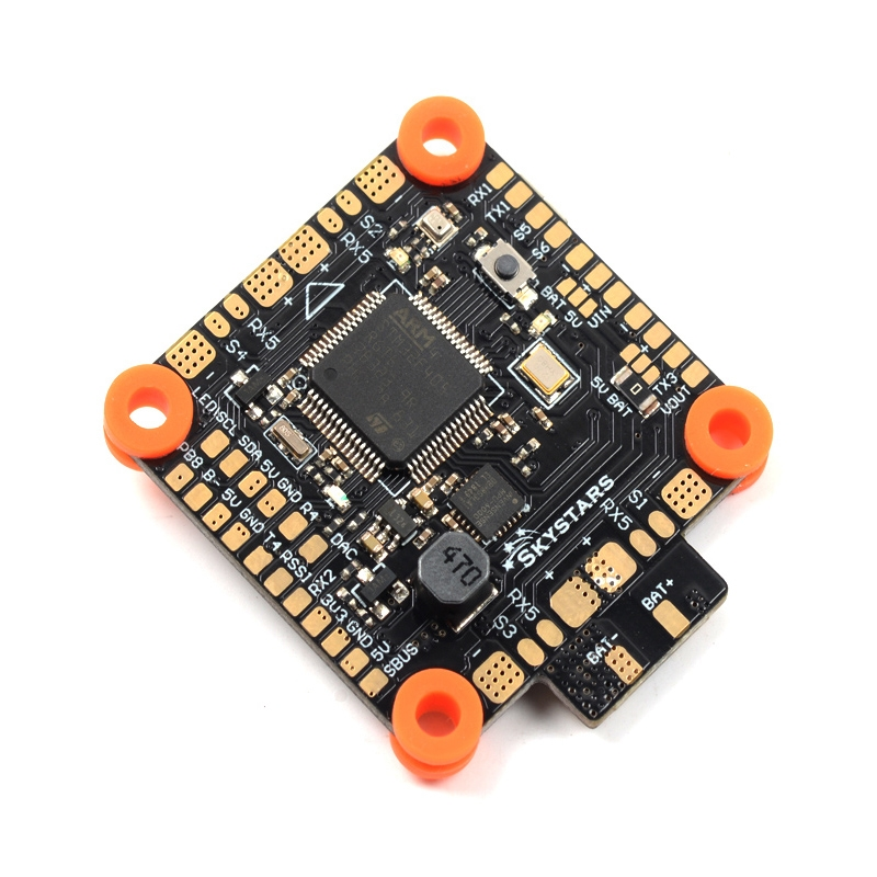 SKYSTARS BetaFlight F405 AIO Flight Controller Built-in PDB OSD 5V/3A BEC Current Sensor for RC Drone