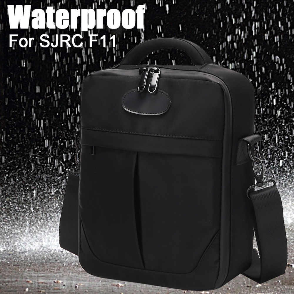 Waterproof Storage Shoulder Bag Backpack Carrying Box Case for SJRC F11 RC Drone Quadcopter