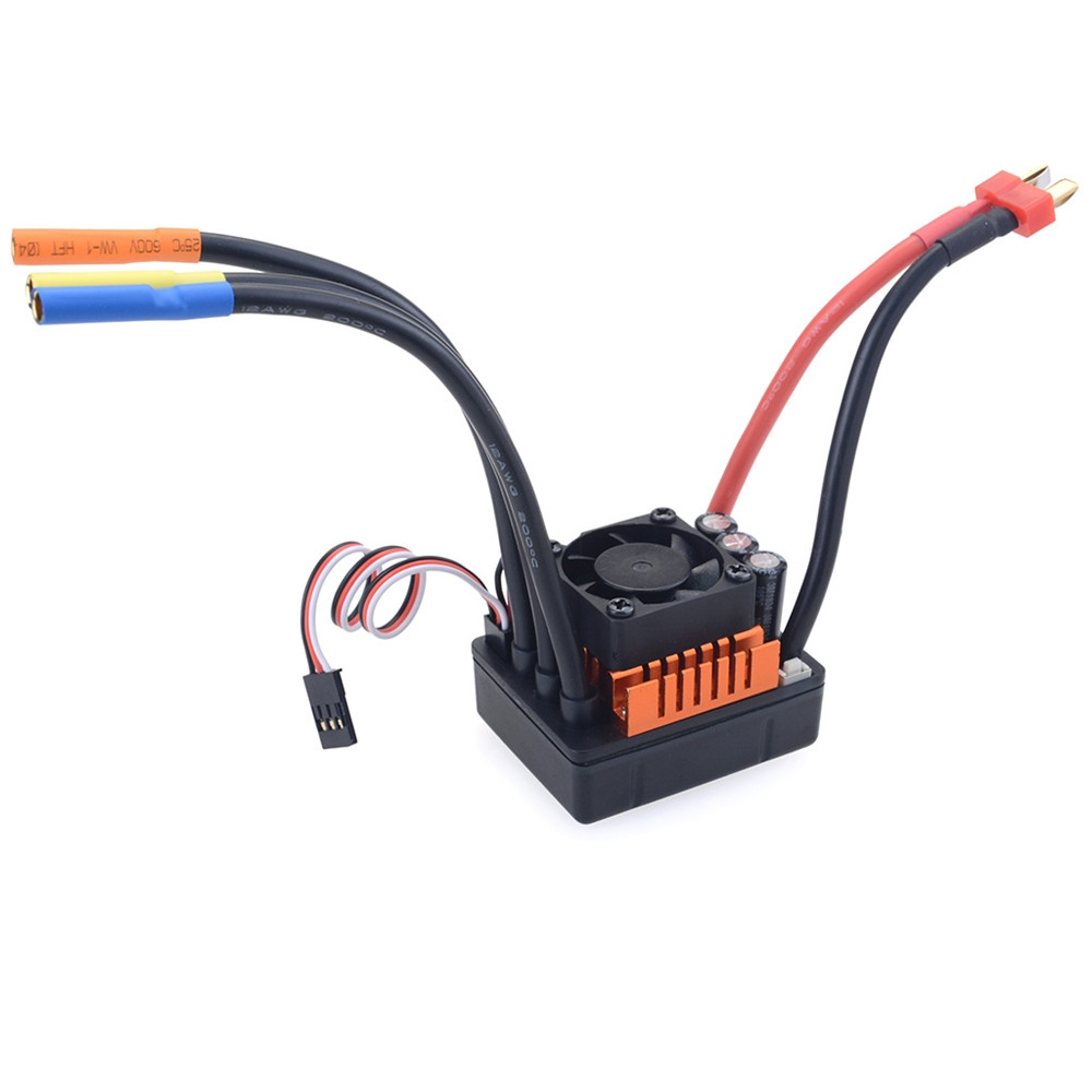 ZD 8272 120A Brushless Sensorless ESC For 1/8 9116 RC Car Parts