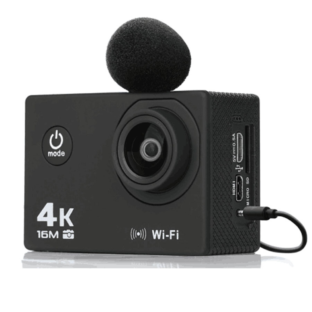 AT-Q30RM Wifi 4K 2.0 Inch 1080P HD Waterproof Action Sport Camera With Mic for FPV RC Drone