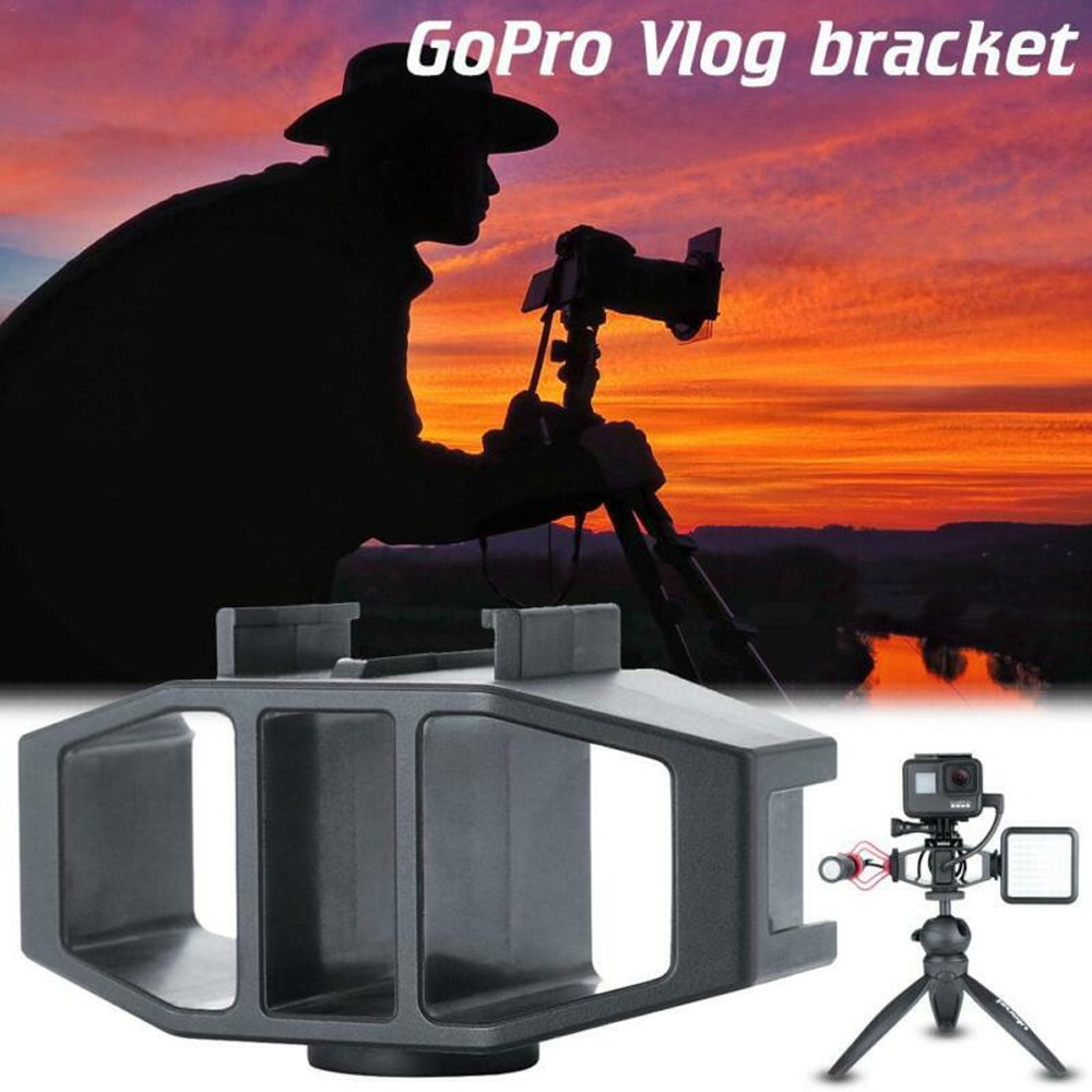 VIJIM GP-1 GoPor Vlog Bracket With 1/4 Screw For Gopor Action Sport Camera