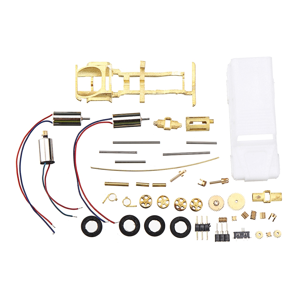 DS87A01 DIY KIT For DAS87 1/87 4WD Land Rover Defender RC Car Parts