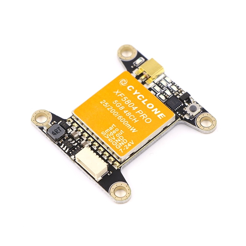 CYCLONE XF5804 PRO 0/5mW/200mW/400mW/600mW 5.8Ghz 48CH FPV Transmitter 2KM MMCX Support Smart Audio Pitmode for FPV Racing Drone