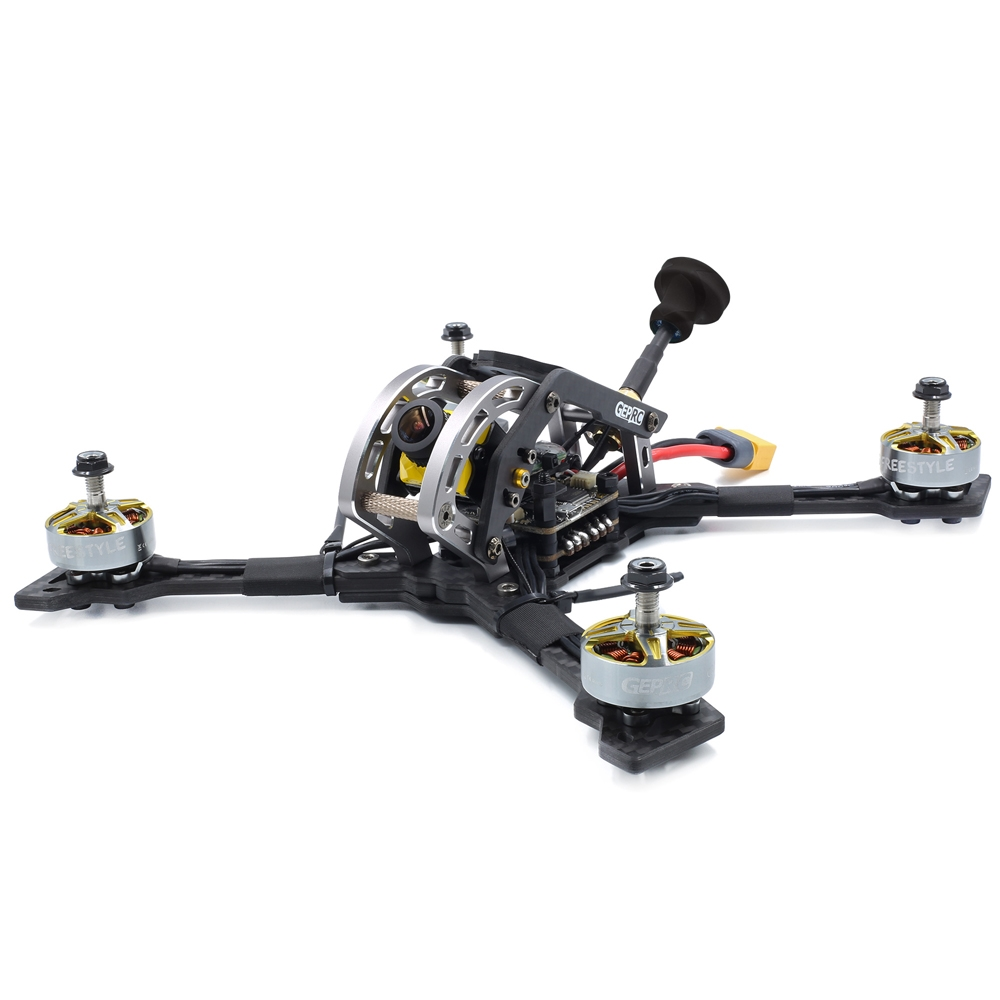 GEPRC Mark3 H5 225mm 5 Inch 3-6S FPV Racing Drone BNF/PNP SPAN Pro F4 50A Blheli_32 DSHOT1200 ESC 25~800mW VTX Caddx Ratel Cam