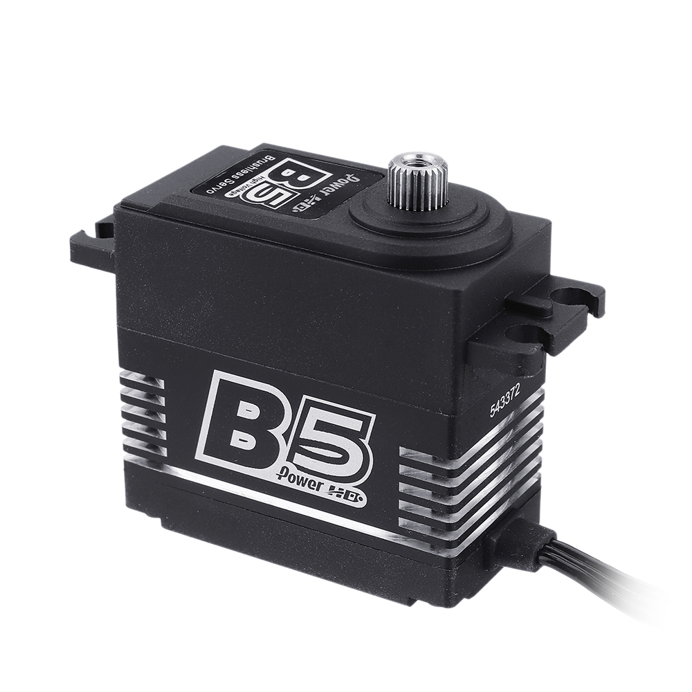 Power HD B5 20KG Large Torque Brushless Metal Gear Digital Servo For RC Airplane RC Car 3DF3A