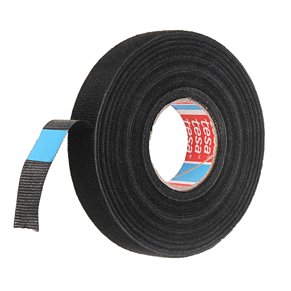 RJX 19mmX25m Tesa Coroplast Adhesive Cloth Tape for Wire Harnessing