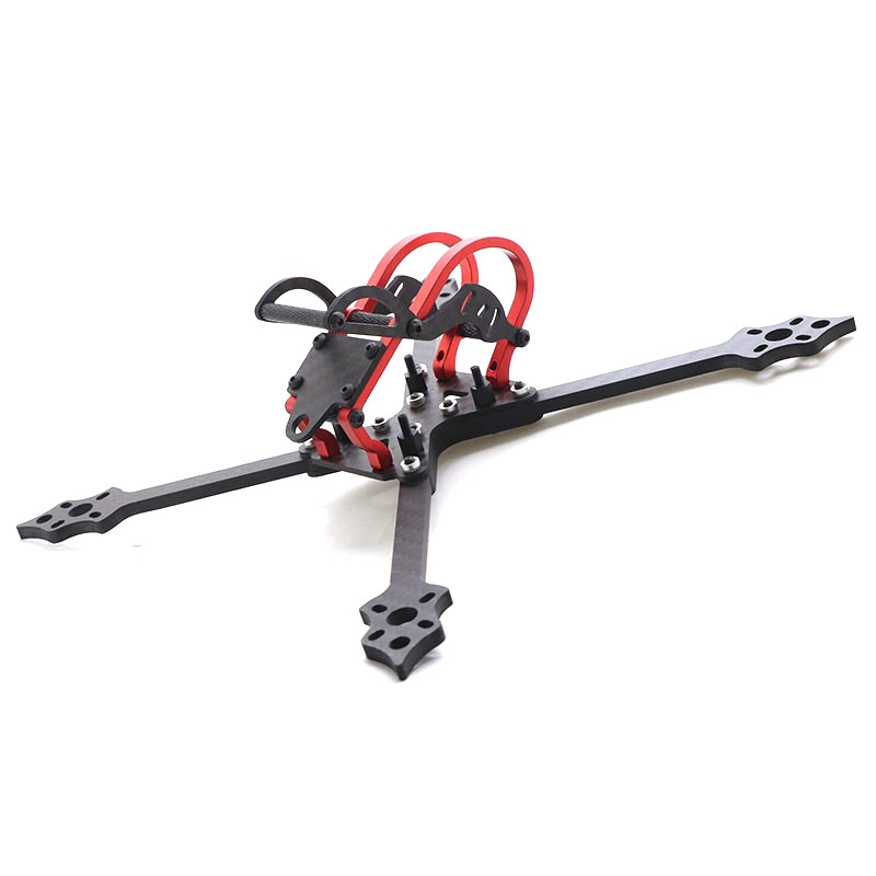 HSKRC 68#218 218mm Wheelbase 5 Inch 4mm Arm Carbon Fiber Frame Kit for RC Drone FPV Racing