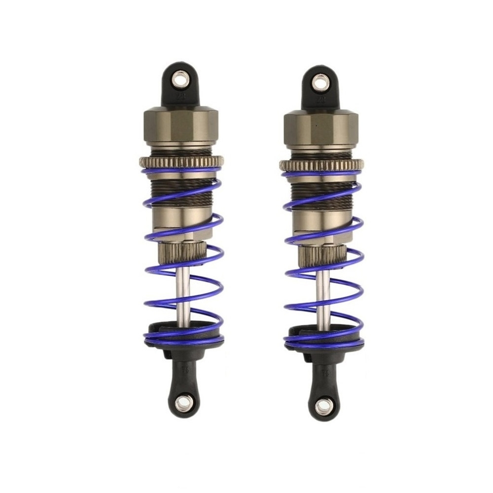 2PCS ZD Racing 7358/7359 Front/Rear Oil Filled Shock Absorber for 9106s 1/10 RC Car Parts