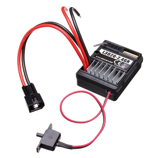 HBX 1/12 Upgraded Brushed ESC/Receiver 2 In 1 Unit 12522