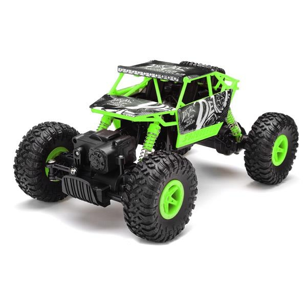 JJRC 1/18 Rock Crawler Rock Buggy Green Blue Red 4.8V 700mAh Battery