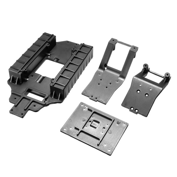 ACME 1/16 RC Truck A2040 Chassis And Front Back Backplane Support Frame Spare Parts