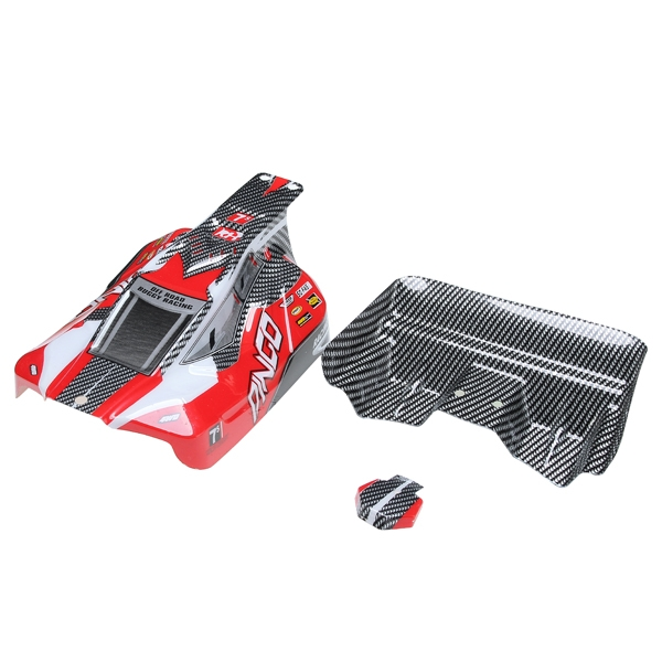 REMO Red Off-Road Buggy Body Shell Canopy D5602 1/16 Buggy RC Car Part