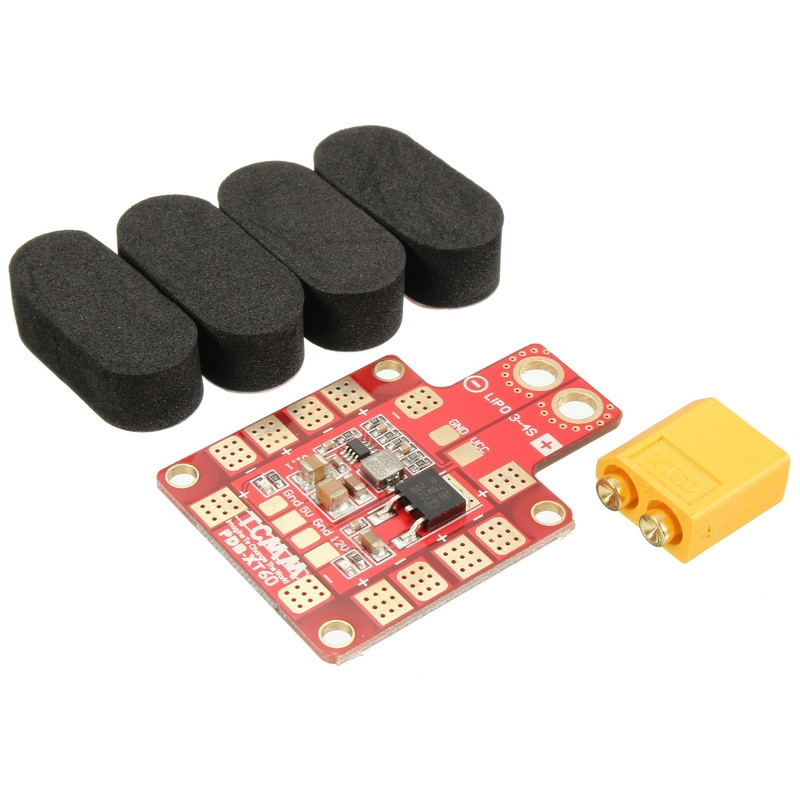 Realacc X4R X5R X6R Frame Kit Spare Part BEC 5V 12V Output PDB Board