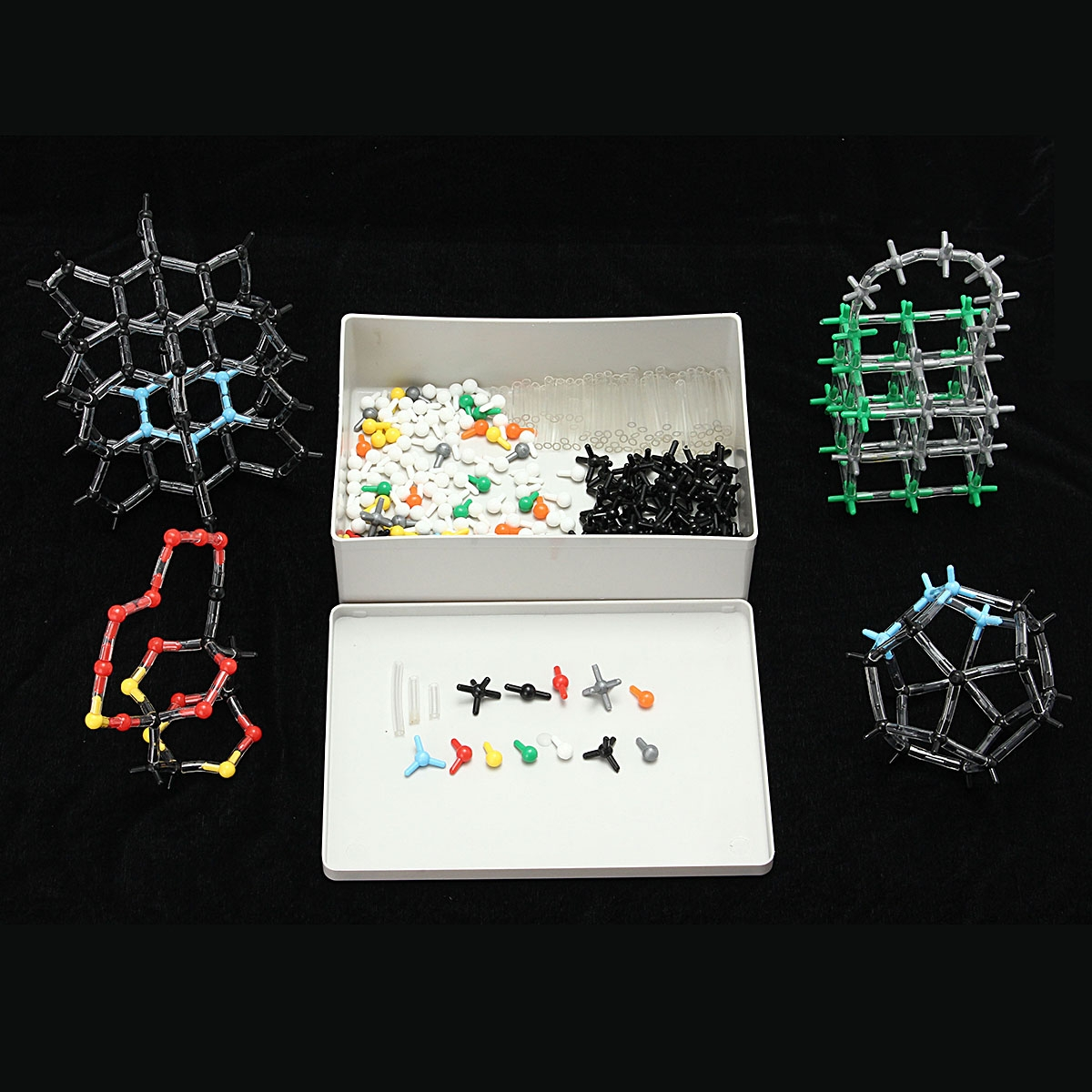 Organic Chemistry Scientific Polymer Atom Molecular Model Teach Class Kit Set