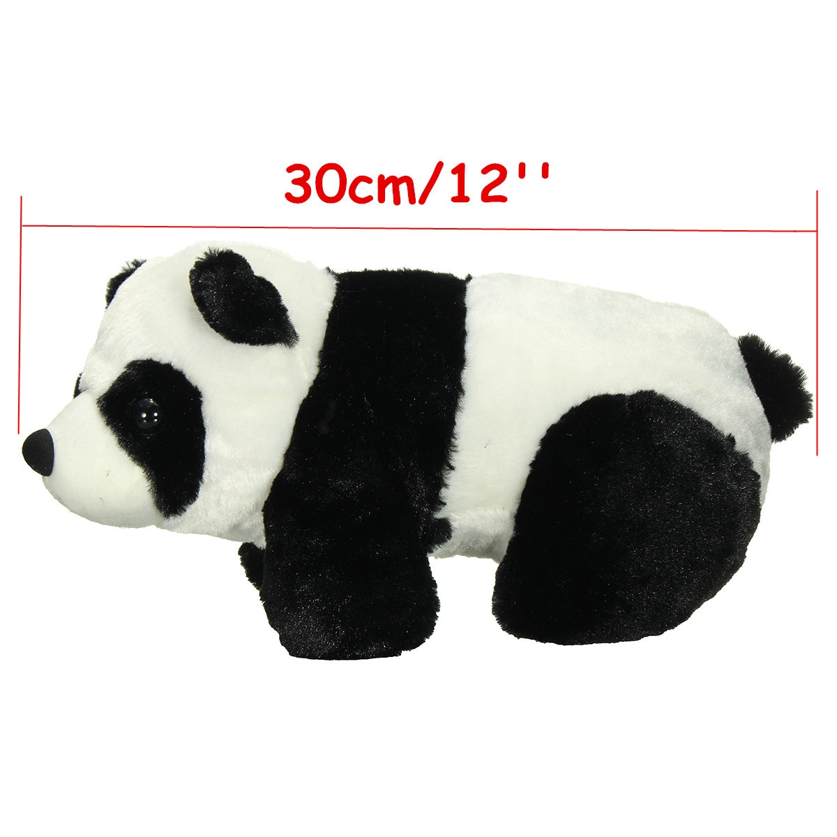30cm 12'' Soft Plush Stuffed Panda PP Cotton Climbing Chinese Panda Doll Toy Gift