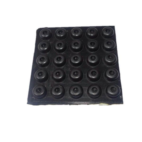 Landing Skid Gear Frame Anti-vibration M3 Silicon Rubber Pad