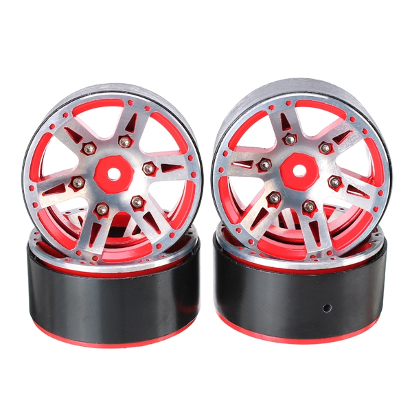 AUSTAR 4PCS Aluminum Alloy Wheel Hub 12mm Hex For Climbing Car