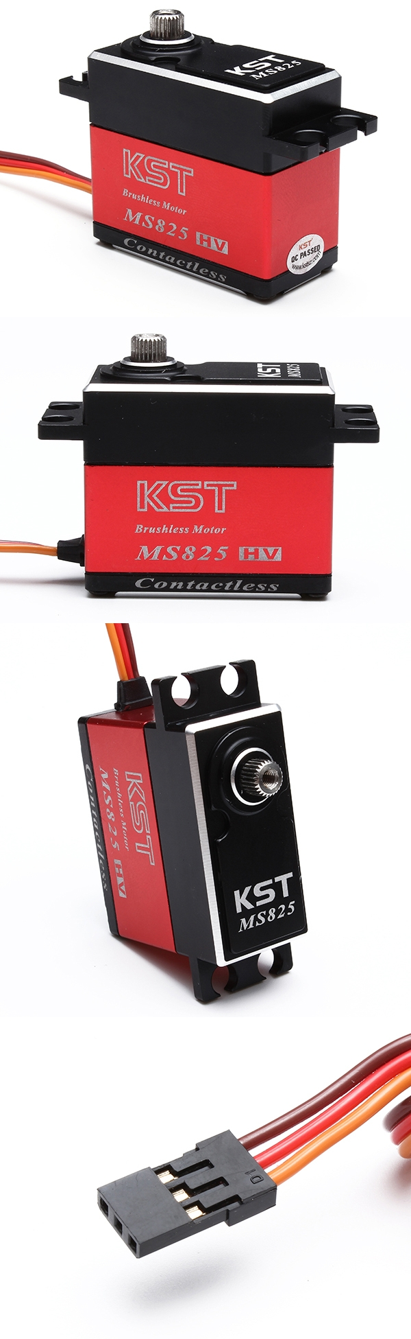 KST MS825 Mini Metal Gear Digital Servo for RC 500 Helicopter Swashplate