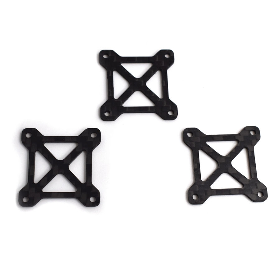 Realacc RFX185 RFX160 FPV Racing Frame Spare Part Side Plate Carbon Fiber 3 Pieces