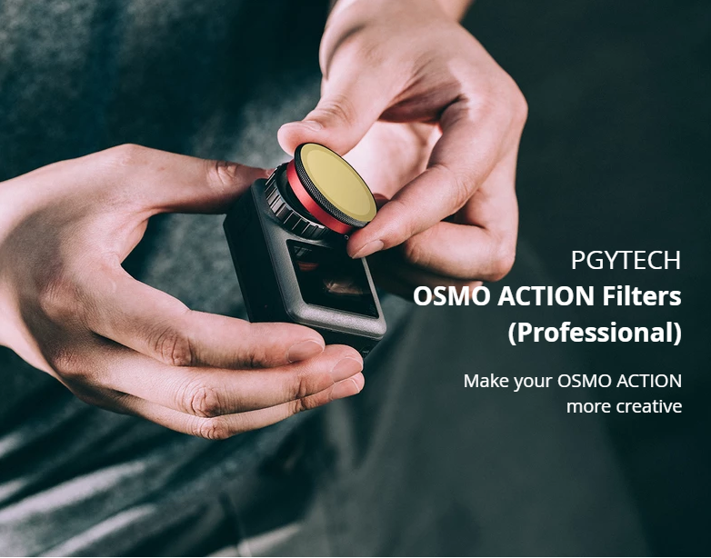 PGYTECH OSMO ACTION CPL Filter Lens Glass Professional Accessories P-11B-017 For DJI Sport Camera