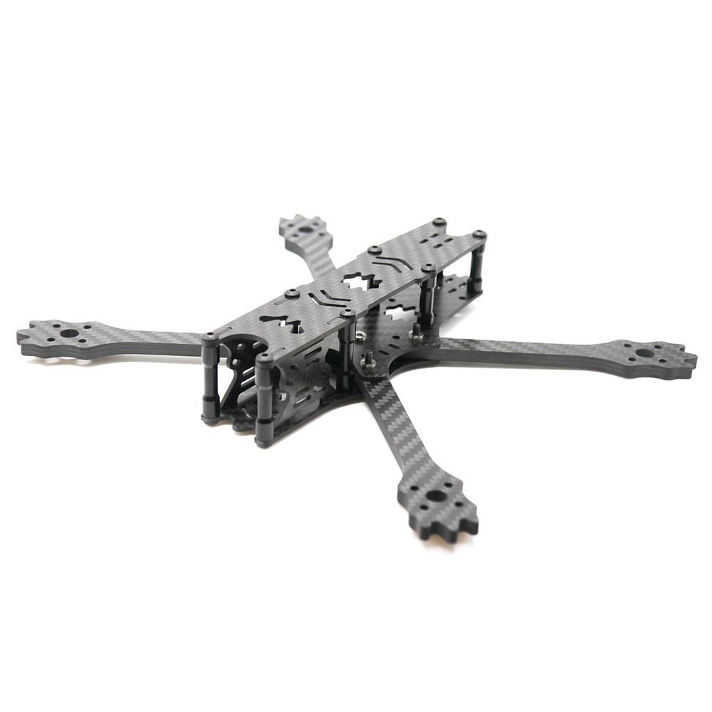 URUAV UR14 215mm Wheelbase 5mm Arm 3K Carbon Fiber 5 Inch Frame Kit for RC Drone FPV Racing