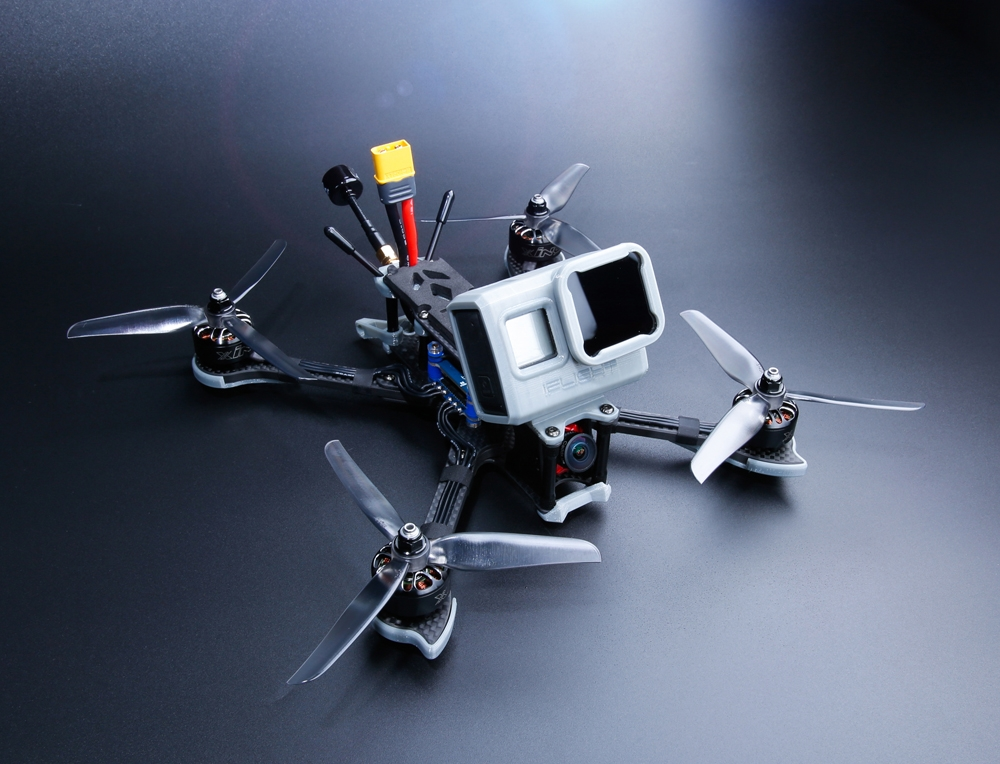 15% OFF for iFlight Nazgul5 227mm 4S 5 Inch FPV Racing Drone BNF/PNP SucceX-E F4 Caddx Ratel Camera 45A BLheli_S ESC 2207 2750KV Motor