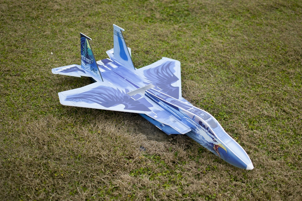 F15 785mm Wingspan KT Board Warbird RC Airplane Aircraft Kit