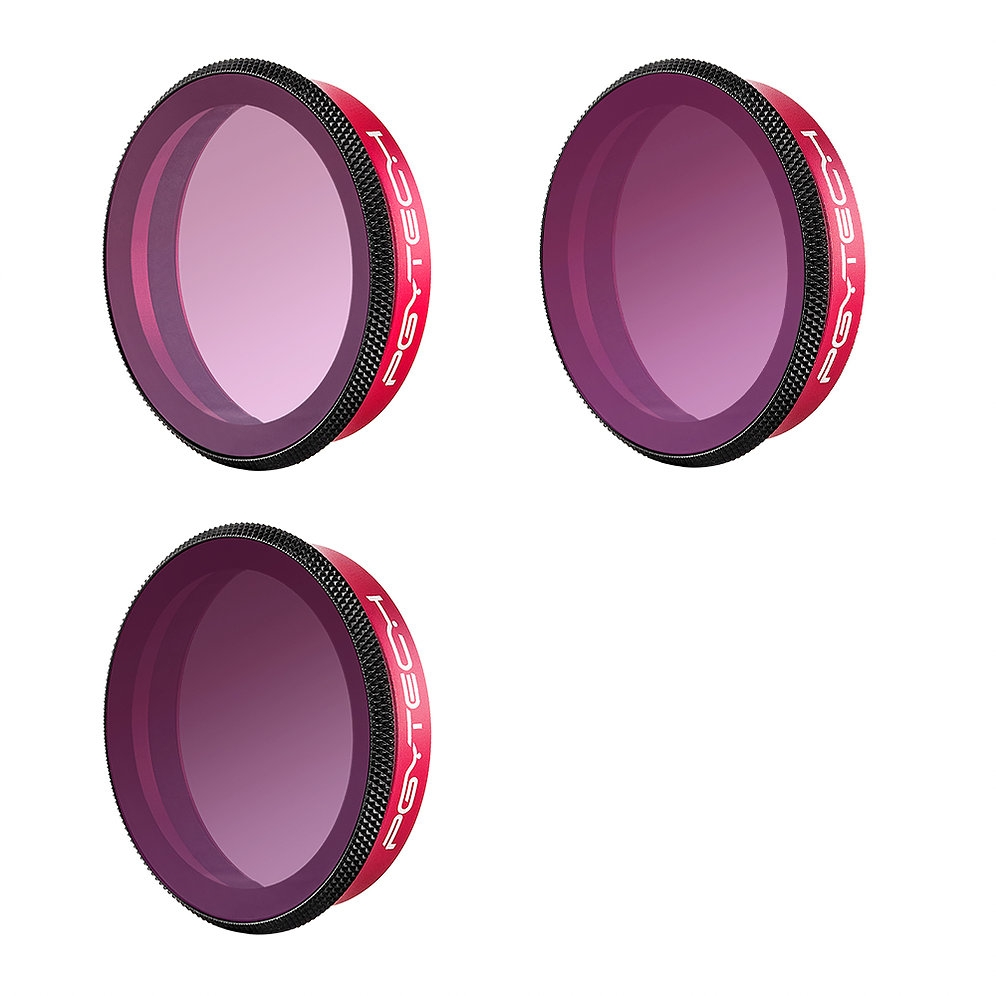 PGYTECH OSMO ACTION Camera Filter Gradient Lens Set ND8-GR ND16-4 ND32-8 for DJI CAM