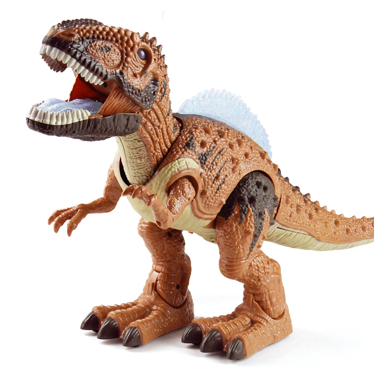 Large Electric Interactive Walking Dinosaur Diecast Model Toy Early Educational Toys for Children Kids Gift