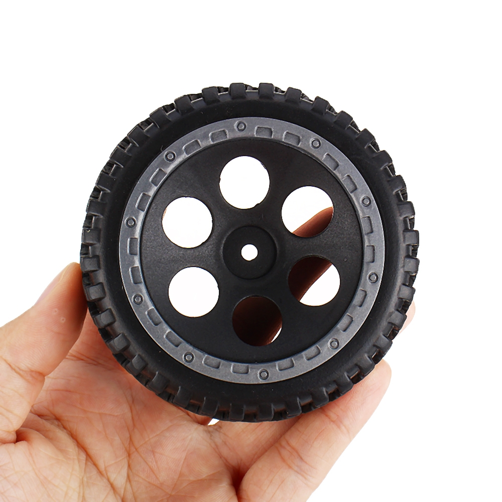 2PCS FS Racing 538407 Tires Assembly 12mm Hex for 1/10 RC Car Vehicles Spare Parts