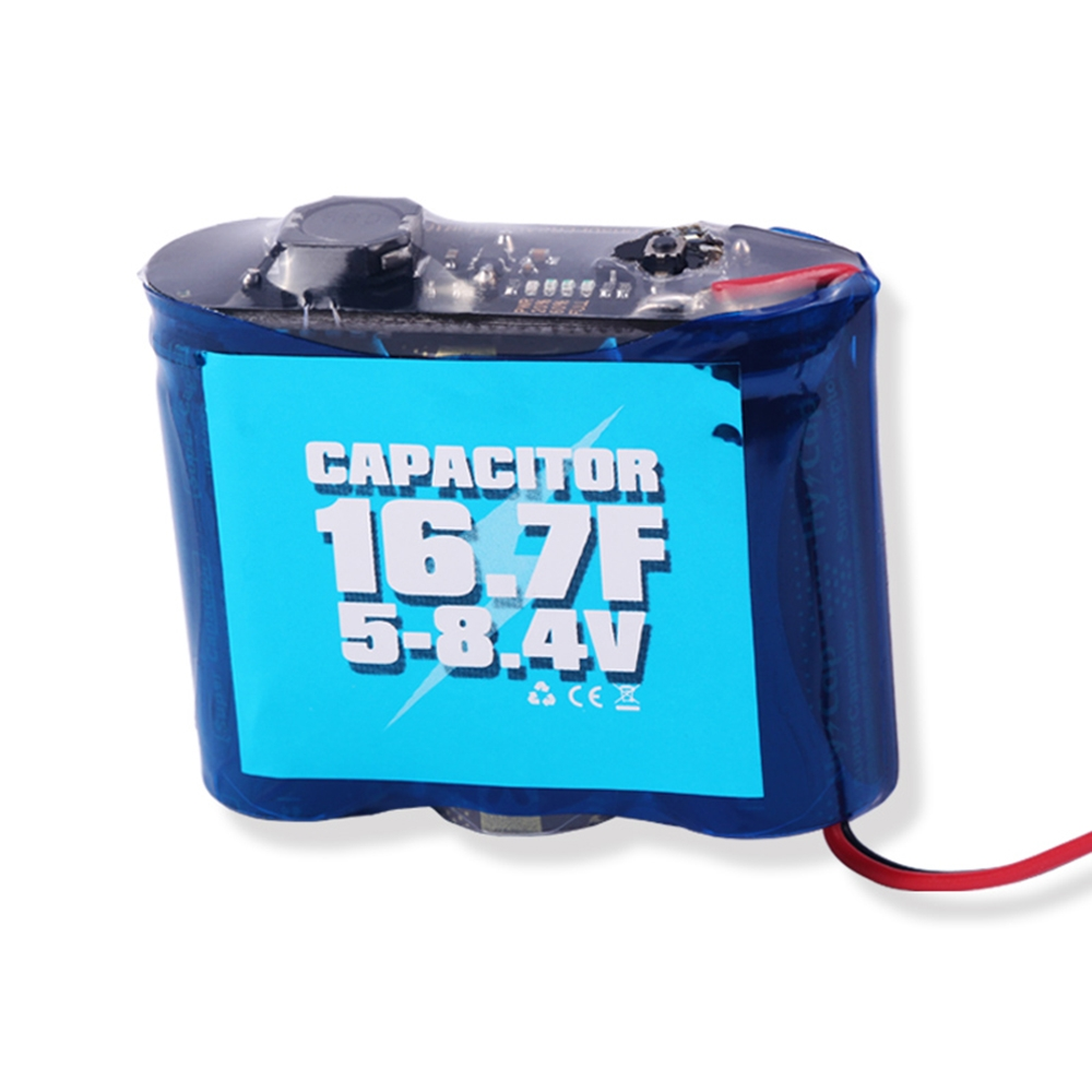 Power Box S1 16.7F 5-8.4V Capacitor Saver Rescue Module For RC Helicopter