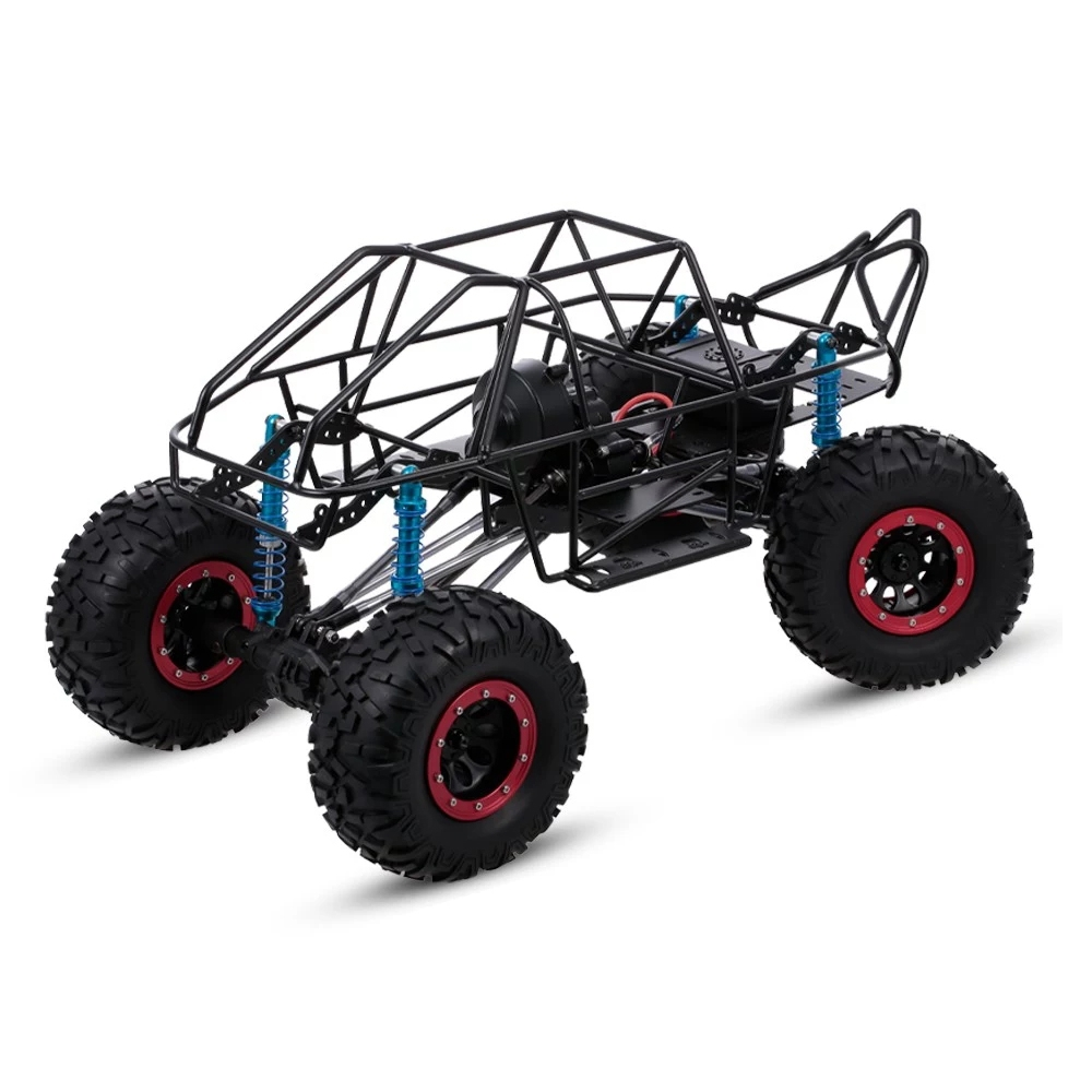313mm Wheelbase RC Car Chassis Frame For 1/10 AXIAL SCX10 II 90046 90047 RC Crawler Climbing Vehicle