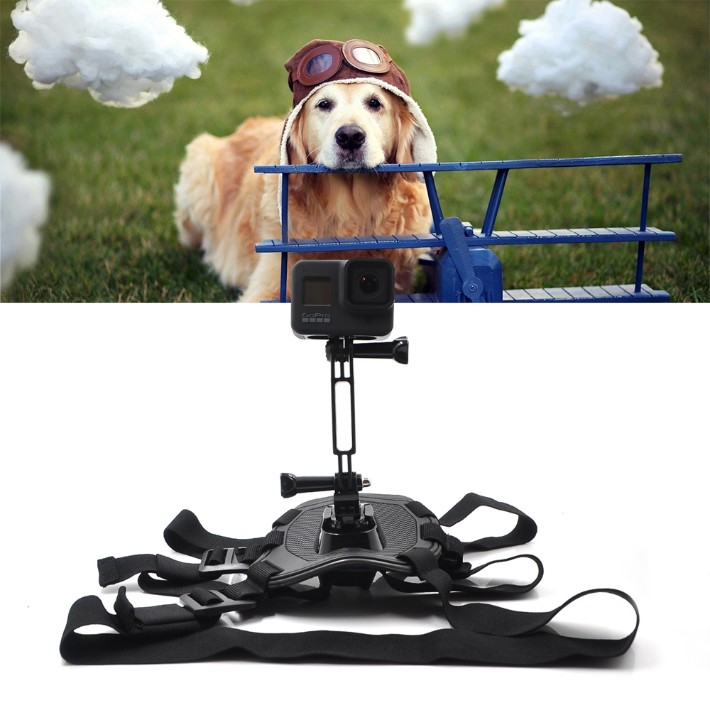 STARTRC Dog Harness Mount Chest Strap for GoPro Hero 8 FPV Camera
