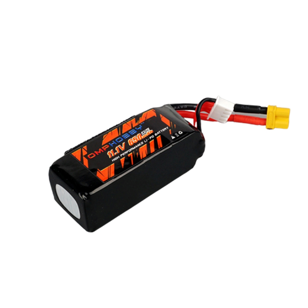 OMPHOBBY M2 RC Helicopter Parts 11.1V 650mAh 45C 3S1P Lipo Battery