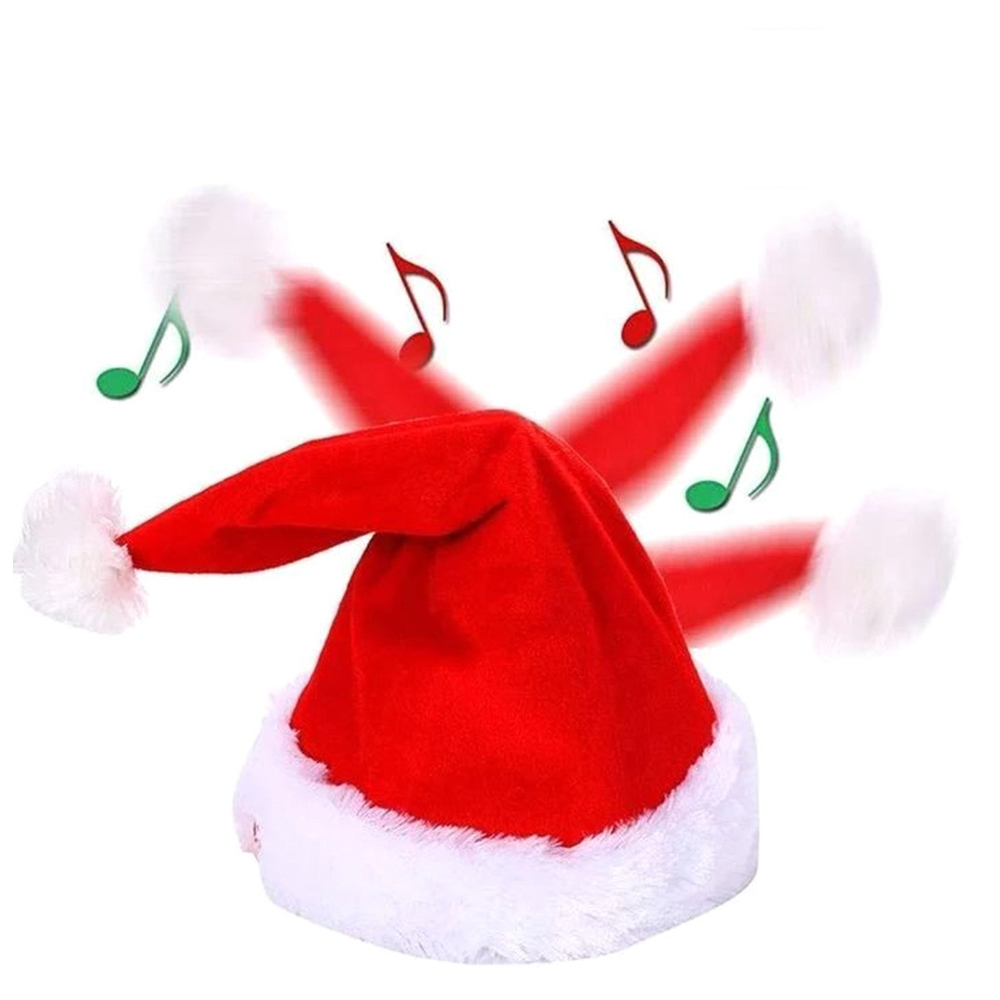 Creative Soft Electric Musical Christmas Hat Decoration Toys from Xiaomi Youpin