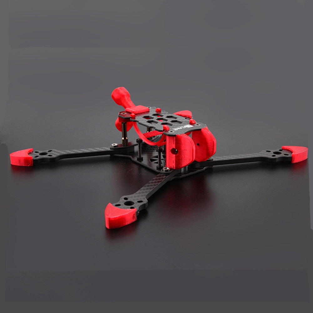 XDRC Yan 220mm Wheelbase 5mm Arm Racing Frame Kit Compatible with DJI Air Unit FPV System
