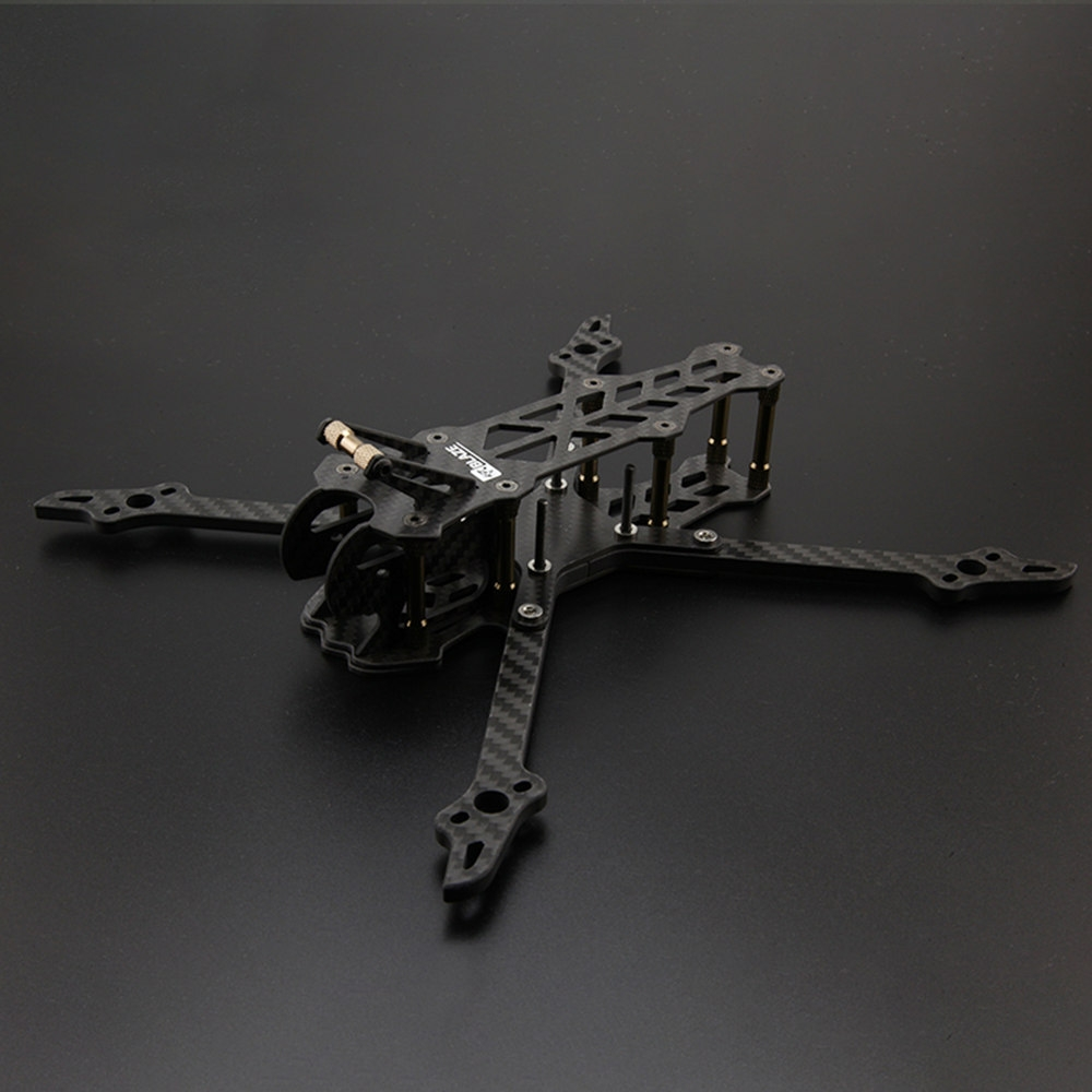 XDRC ZHI 230mm Wheelbase 5mm Arm Thickness 3K Carbon Fiber Frame Kit for RC Drone FPV Racing