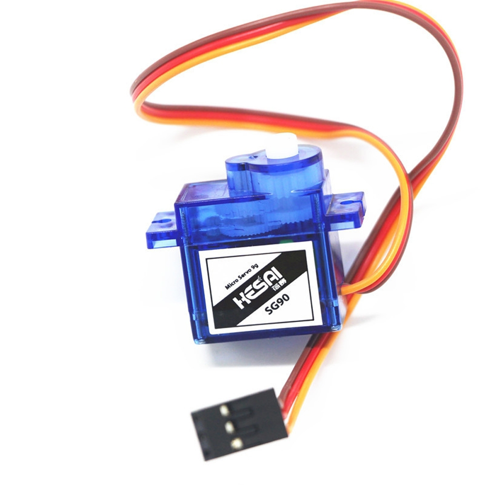 Hesai SG90 9g Micro Analog Servo Plastic Gear High Output 1.5kg 25cm for RC Airplane Robots 250 450 Helicopter Car Boat DIY 6pcs