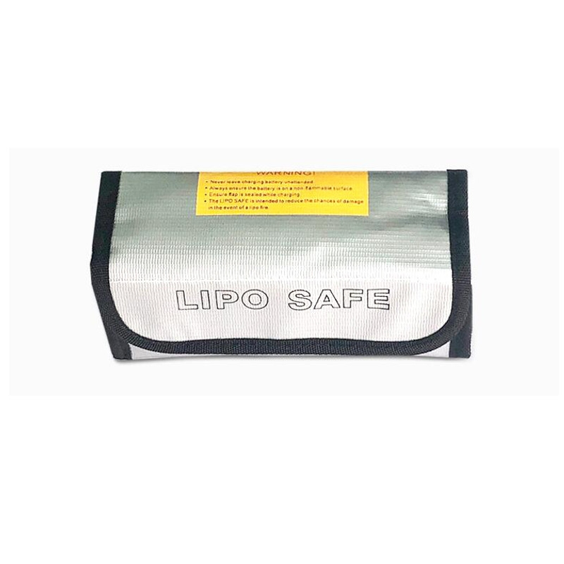Explosion-proof Fireproof Safe Storage Bag 195x65x80mm for RC LiPo Battery