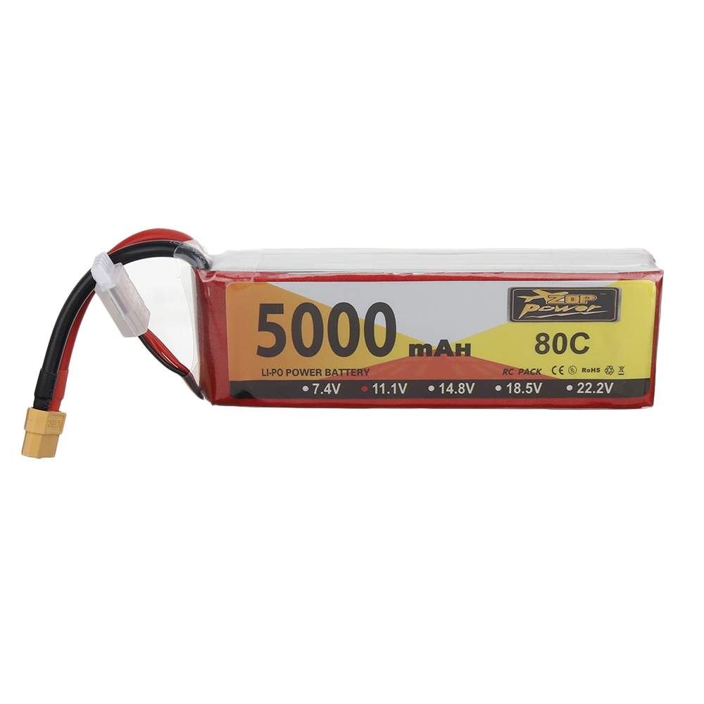 $33.99 for ZOP Power 11.1V 5000mAh Lipo Battery