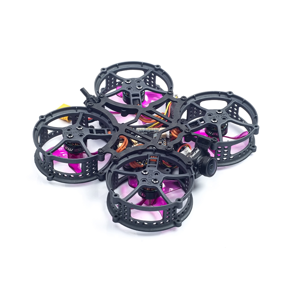 Diatone Hey Tina Whoop162 86mm F4 2S 1.6 Inch Cinewhoop FPV Racing Drone PNP BNF w/ RUNCAM NANO 2 Camera