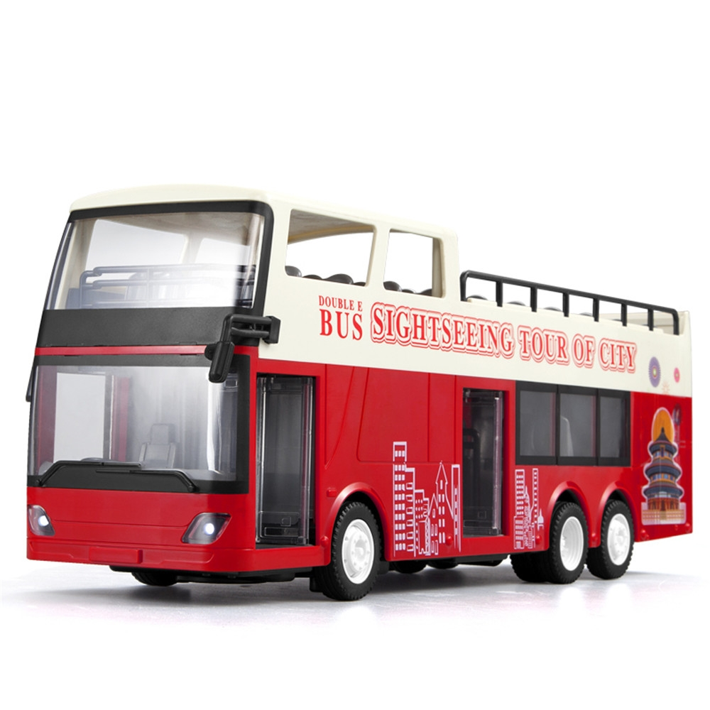 Double Eagle E640-001 1/18 2.4G RC Car Sightseeing Tour Bus Two Layers Vehicles Model
