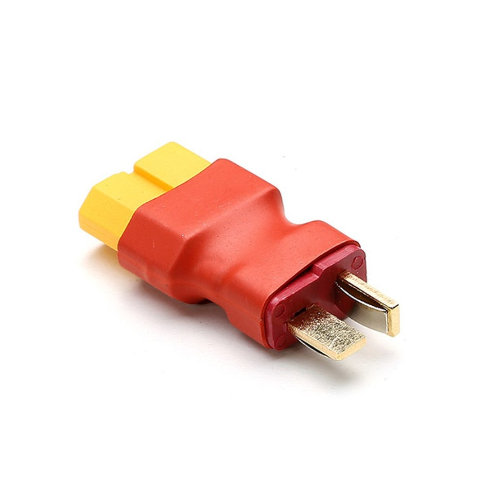 10PCS Amass XT60 Female To T Plug Male Adapter Connector For RC Models