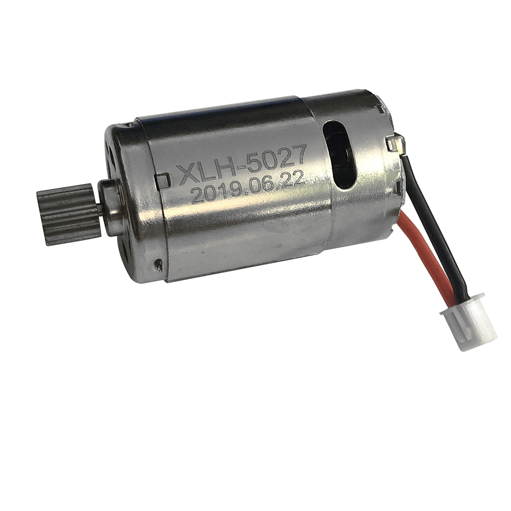 Xinlehong 30-DJ01 Brushed Motor 390 w/ Pinion Gear for 9130 9136 9137 1/16 RC Car Spare Parts