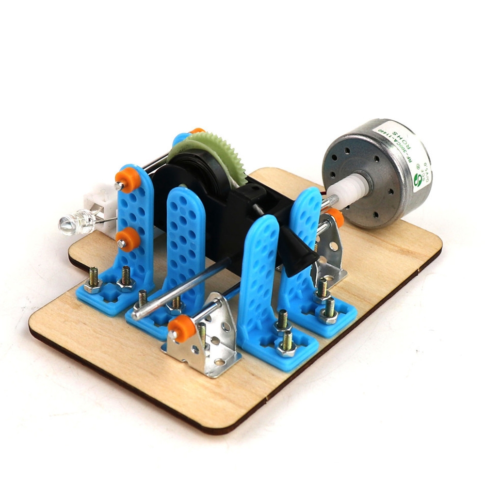 Scientific Clockwork Generator Energy Conversion DIY Physics Engine Experiment Toy