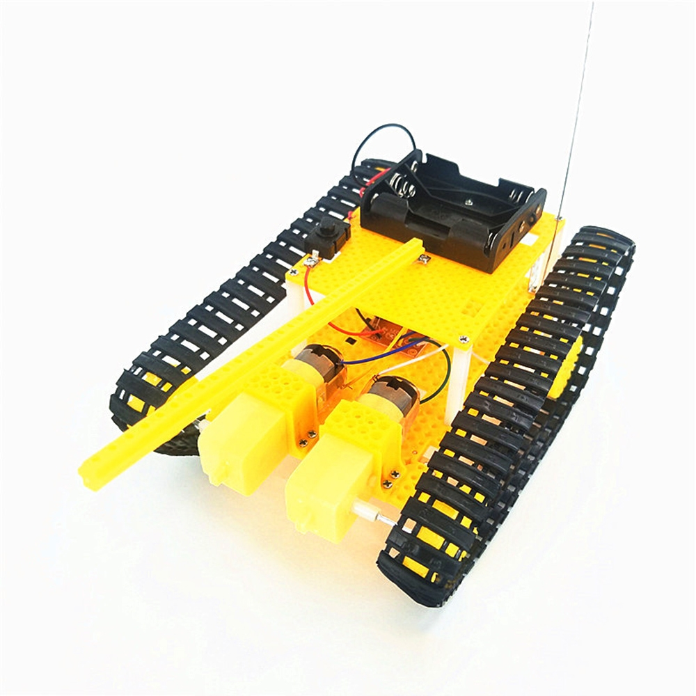 DIY RC Robot Tank STEAM Assembled Robot Toy Kit
