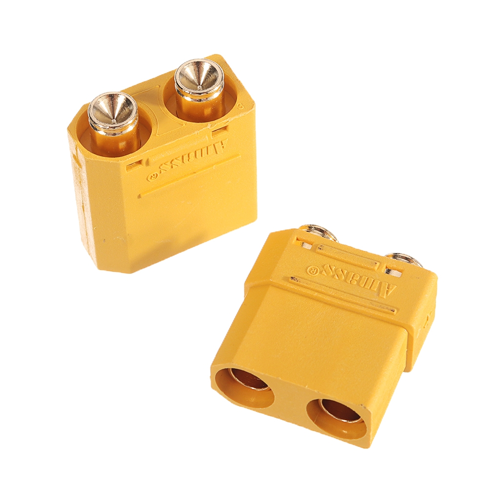 1Pair Amass XT90PB Plug Connector Adapter Plug for RC Model Lipo Battery