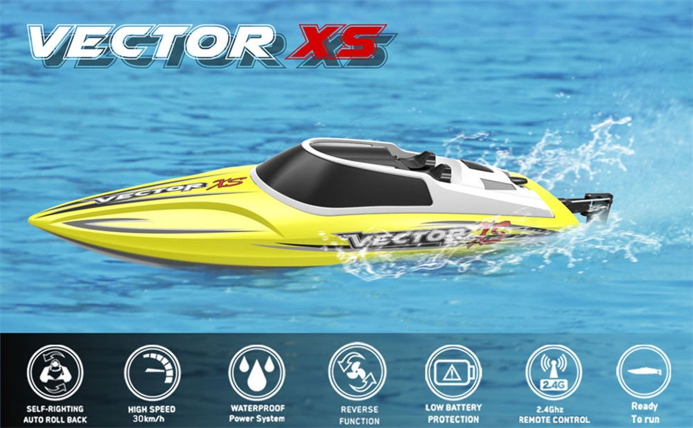 11% OFF for Volantexrc 795-4 Vector XS 30km/h RC Boat with Self-Righting & Reverse Function RTR Model