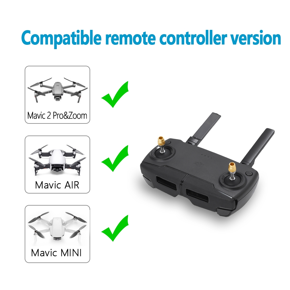 Remote Control Transmitter Extended Joystick Thumb Rocker Detachable for DJI Mavic 2/ Mavic Mini/ Mavic-Air