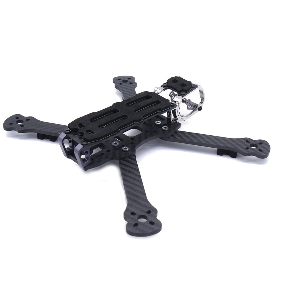 Fonster BB5 236mm 5inch Compressed X Carbon Fiber Quadcopter Frame Kit 4mm Bottom Plate Kit For FPV Freestyle RC Racing Drone